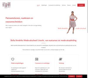 Home-pagina nieuwe website