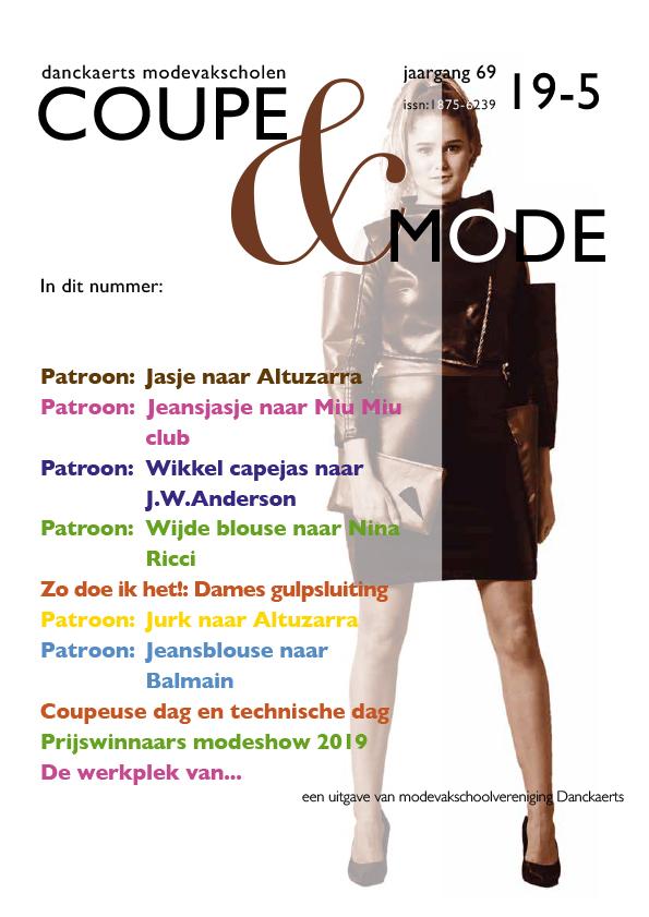 Omslag nieuwe editie Coupe & Mode
