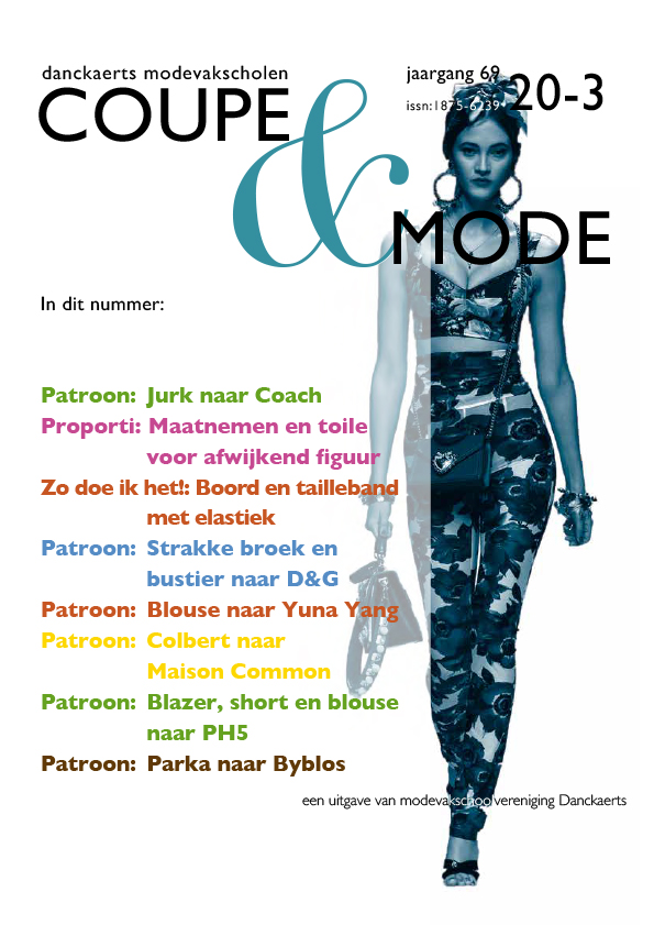 Cover Coupe & Mode editie 69-20-03